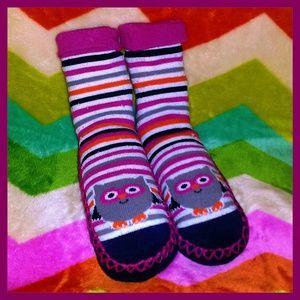 Adorable Owl Slipper Socks/Booties by Gertex